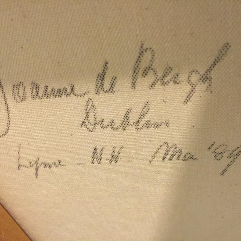 Joanne de Bergh--signature on back of Dublin piece--McManus Storage.jpg